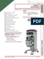 Hobart HL600-1STD Mixer
