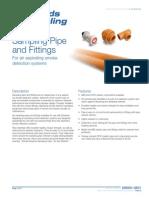 S85001-0631 -- Air Sampling Pipe and Fittings