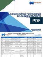 Convocatorias y Licitaciones del Gobierno Municipal de Matamoros.