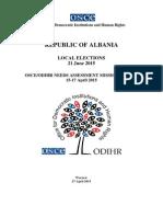 Raporti i OSBE/ODHIR