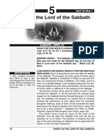 2nd Quarter 2015 Lesson 5 Easy Reading Edition Christ as the Lord of the Sabbath
