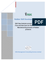 Rsdc-skill_gap_study-Rubber Technology and Manufacturing Process of Rubber Products