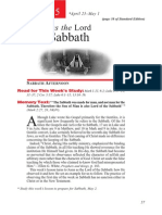 2nd Quarter 2015 Lesson 5 Teachers Edition Christ as the Lord of the Sabbath