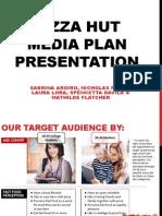 pizza hut media plan