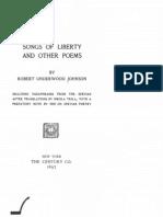 Songs of Liberty and Other Poems (1897.) - Robert Underwood Johnson , Nikola Tesla