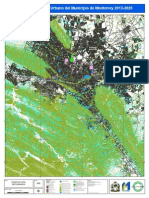 Mapa Desarrollo Urbano Monterrey