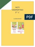 Periódico Digital Desnutrición.