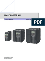Inversor de Frequencia Siemens Micro Master 420 Lista de Paramentros