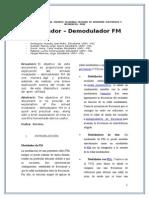 modulador-demodulador fm