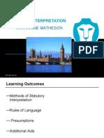 Statutory Interpretation(5)