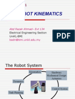 Chap 4 - Robot Kinematics
