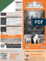 Programme Ciné Roc à Terrasson Du 29 avril Au 26 mai 2015