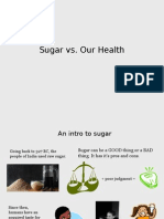 sugar vs health