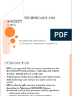 Topic 1 - Science, Technology Ans Society