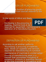 Defining Purchasing,Procurement, Supply Management, Materials Management & SCM