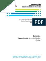 Especializacion Comercializacion y Ventas