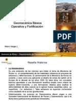Geomecanica Basica y Fortificacion