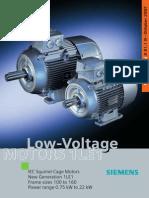 Low Voltage Motors 1LE1 D81 1 News