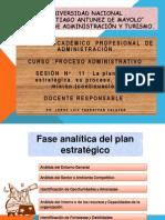 Sesión   N°  11  PA  Planeacion Estrategica continuacion