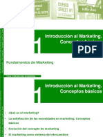 Tema 1- Introducción Al Marketing, Conceptos Básicos