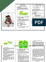 Leaflet Gizi Pada Anak Pra Sekolah