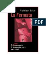 Backer Nicholson - La Fermata