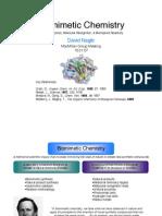 Biomimetic Chemistry