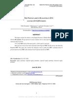 Market Risk Premium 2014