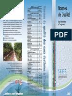 norme de qualité des eaux maroc