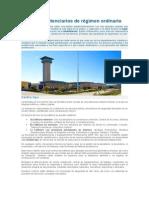 Centros Penitenciarios de Régimen Ordinario