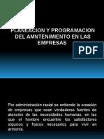 Proceso administrativo del mantenimiento industrial