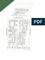 Greenhouse Patio Concrete Site Plan