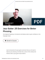 Jazz Guitar_ 25 Exercises for Better Phrasing _ JazzGuitarLessons