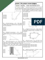 Noções de Geometria - Área Perímetro e Teorema de Pitágoras