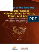 New Report Finds Over $200 Million in Fraud and Abuse at Charter Schools