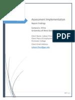 assessment implementation final new