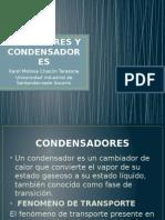 Ebullidores y EBULLIDORES Y CONDENSADORES.pptxCondensadores