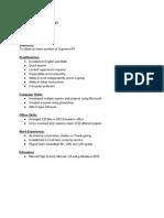copy of copy of resemue - google docs