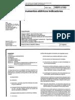 NBR 5180 - Instrumentos Eletricos Indicadores