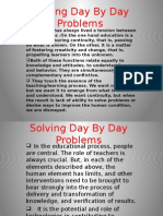 Solving Day by Day Problems
