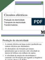 FM3 - 5 - Produção e transporte de electricidade Transformadores