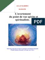 Avortement du point de vue spirite et spiritualiste yjs.doc