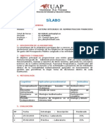 Sílabo SIAF- DIGEDOCE-UAPDEC