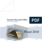 Tutorial de Word 2010