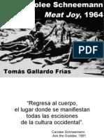 Meat Joy. Tomás Gallardo Frías
