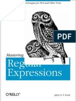 Regular Expressions Contents