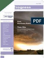 PBA Progress Fall05 Newsletter