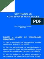 Concesiones Municipales 1