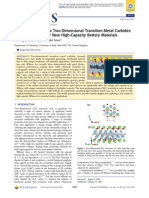 ARTICLE - Ion Intercalation Into Two-dimensional Transition-metal Carbides, Global Screening for New High-capacity Battery Materials