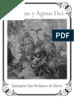 Sanctus y Agnus Partituras